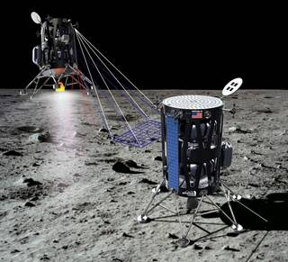 Intuitive Machines of Houston has proposed to fly as many as five payloads to a scientifically intriguing dark spot on the Moon.