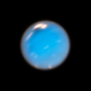 Hubble view of Neptune