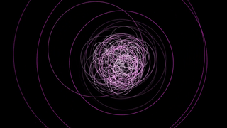 Fermi-detected gamma rays from TXS 0506+056 are shown as expanding circles