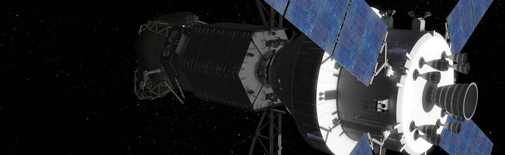 NASA cherche des idées de l'industrie des États-Unis sur les principaux concepts de l'engin spatial dessins pour Asteroid Redirect Mission de la NASA.