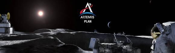 Artemis Plan web banner