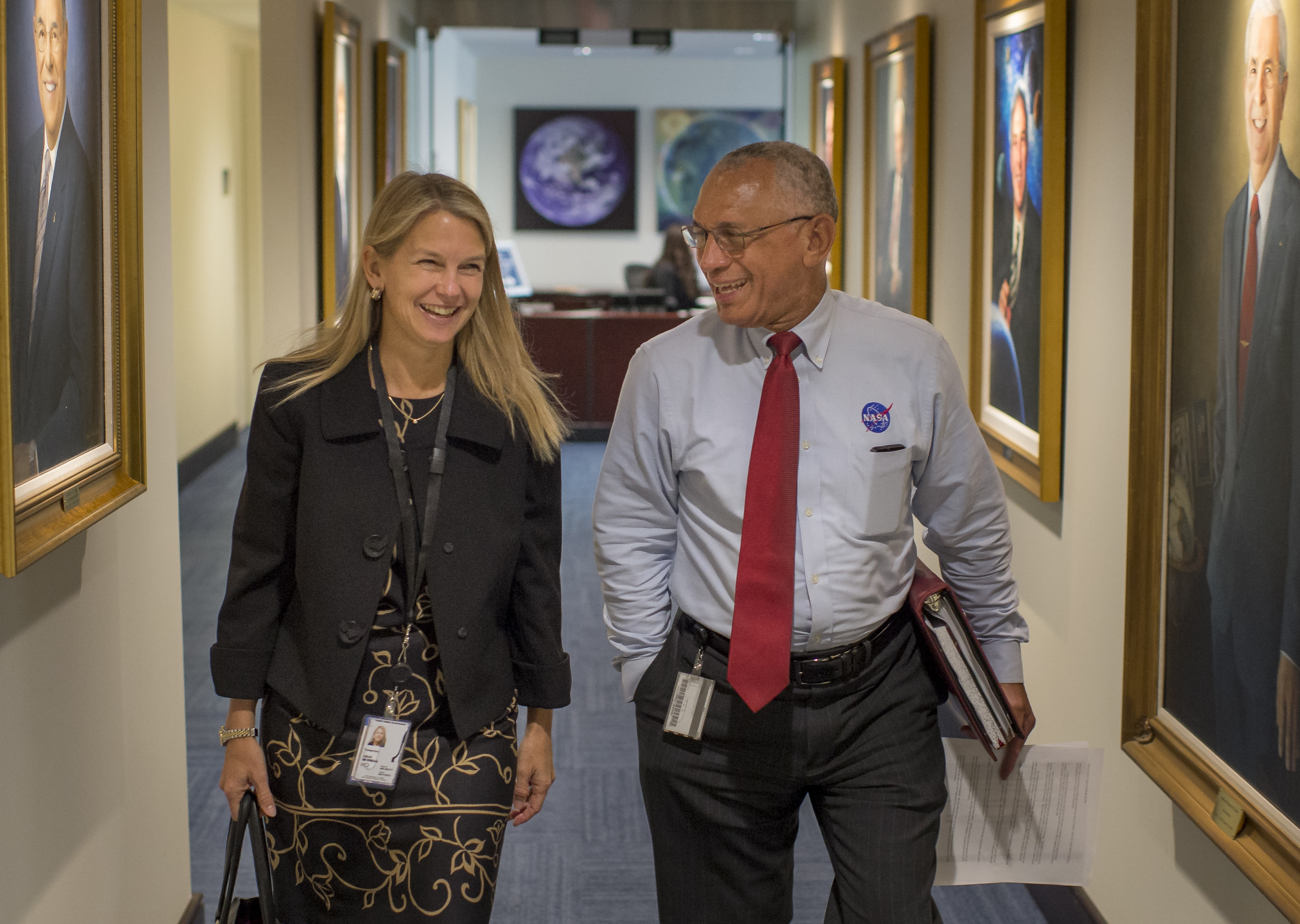 Dava Newman Begins Work as NASA's Deputy Administrator