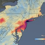 Data Shows 30 Percent Drop In Air Pollution Over Northeast U S Nasa