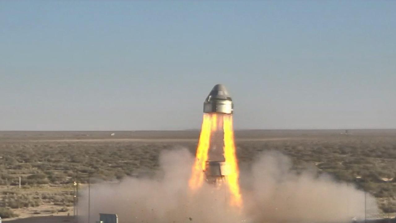 Resultado de imagen para Starliner completes test on CST-100