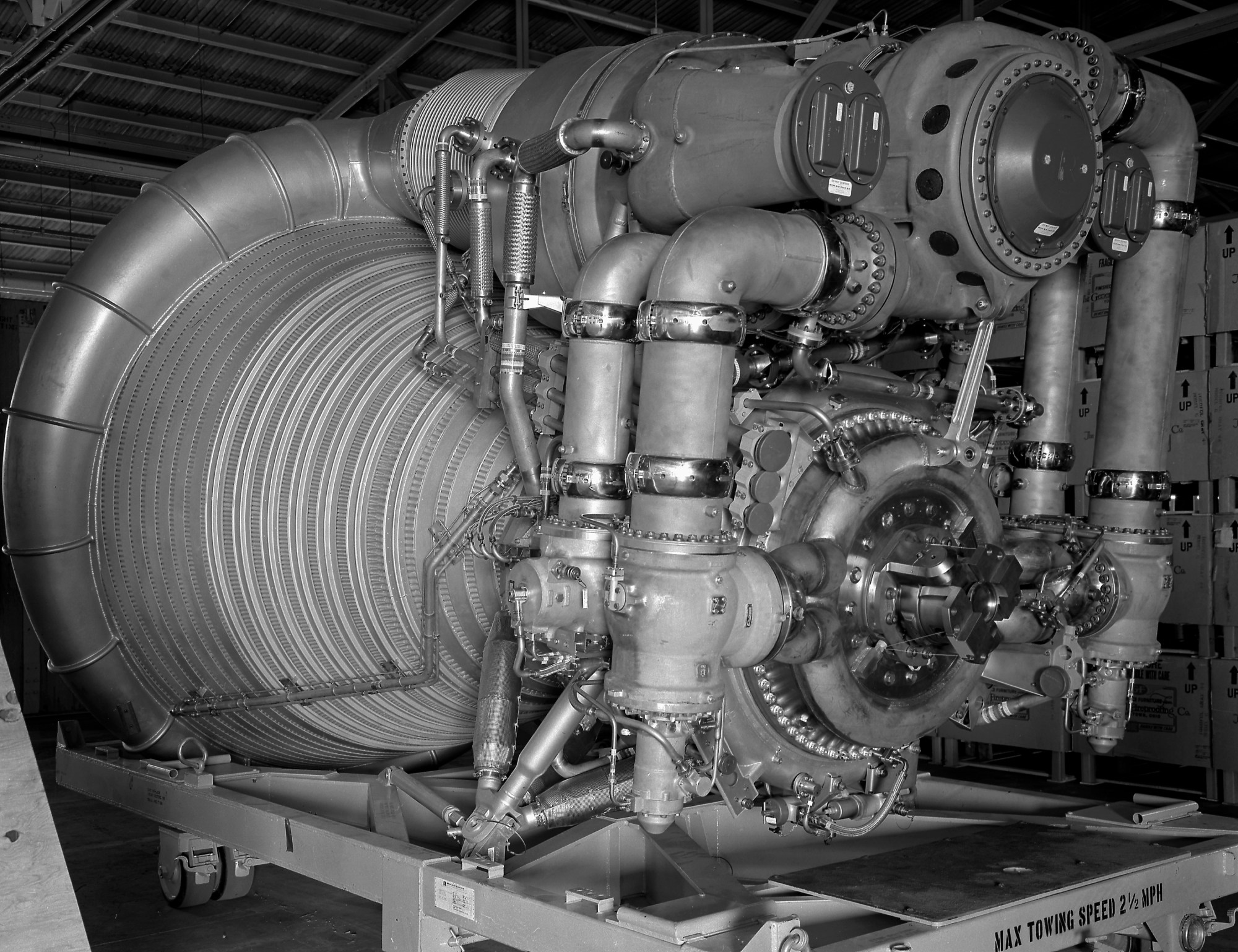 hight resolution of closeup of single f 1 engine showing parts inside