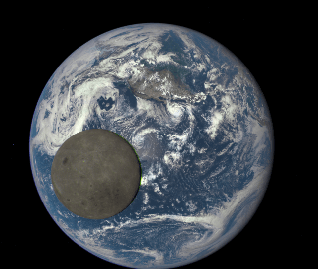This Image Shows The Far Side Of The Moon Illuminated By The Sun As It Crosses Between The Dscovr Spacecrafts Earth Polychromatic Imaging Camera Epic