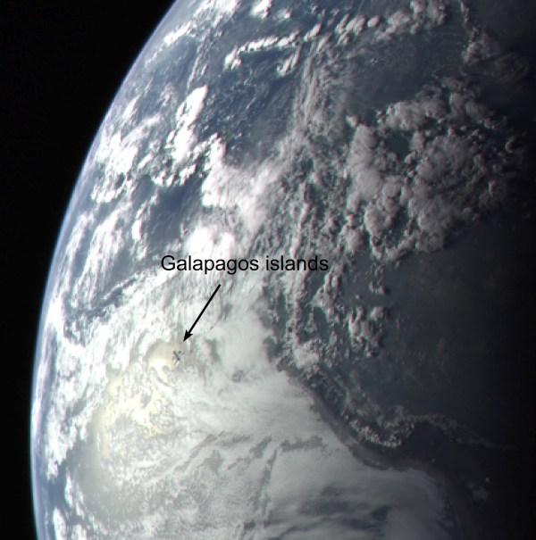 Messenger Earth Flyby Nasa