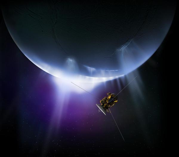 Cassini Closes In Enceladus Time Nasa