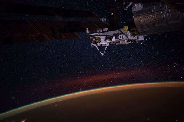 Earth' Atmospheric Glow And Stars Of Milky Nasa