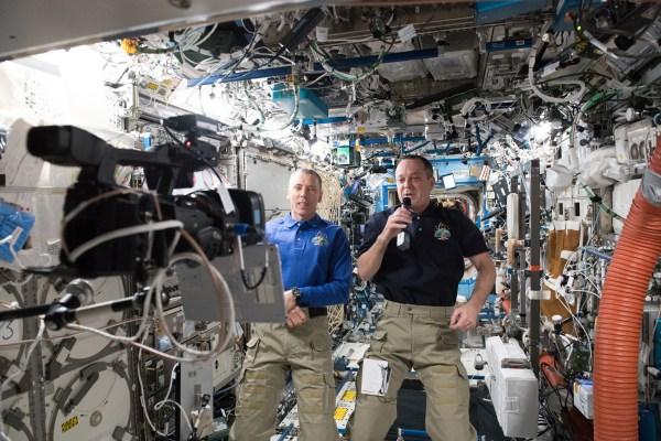 Frostburg State Students Speak With Nasa Astronaut In
