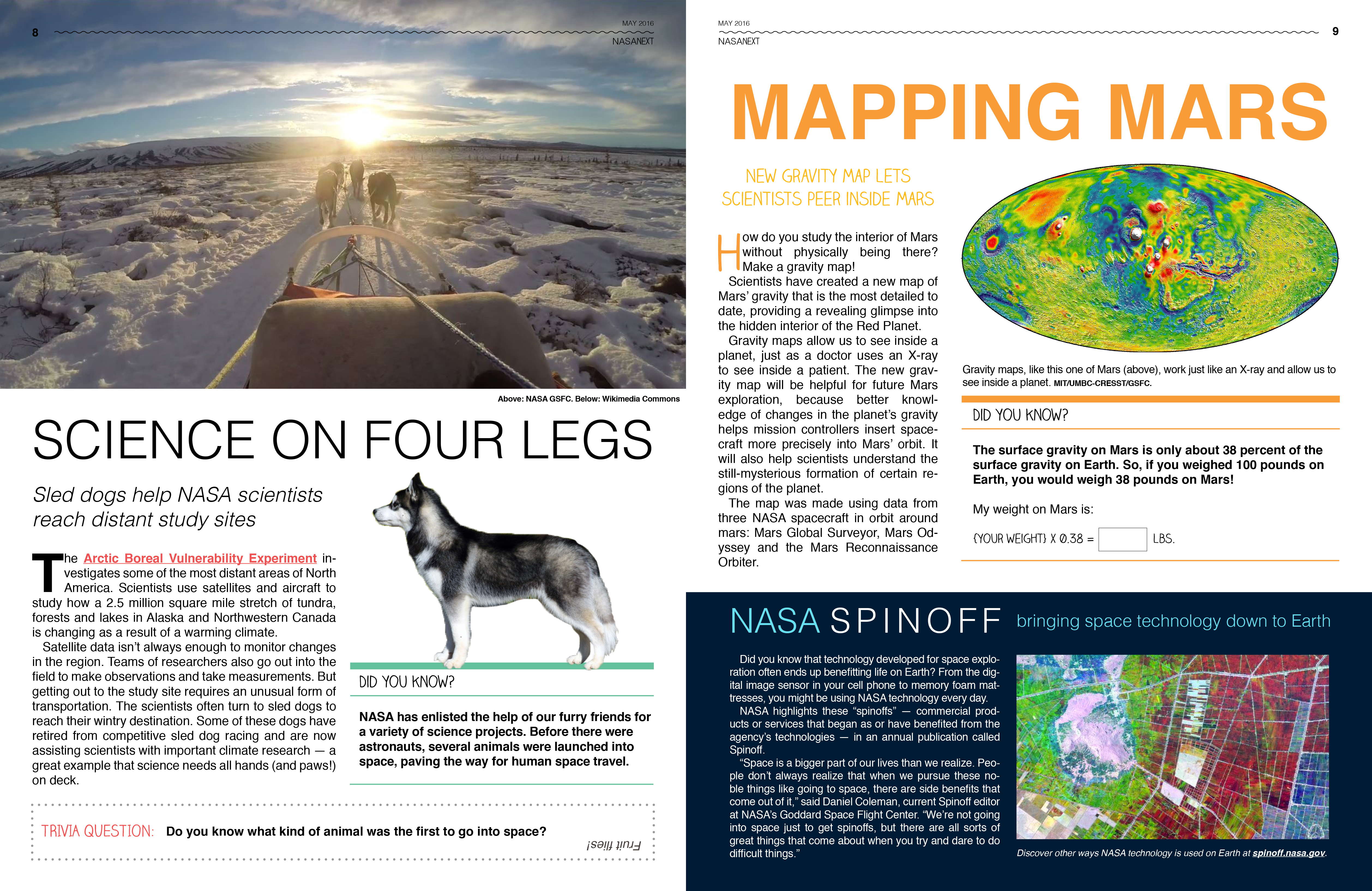 Printable Earth Science Articles