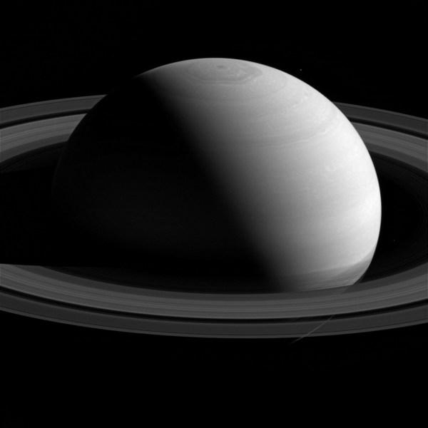 Serene Saturn Nasa