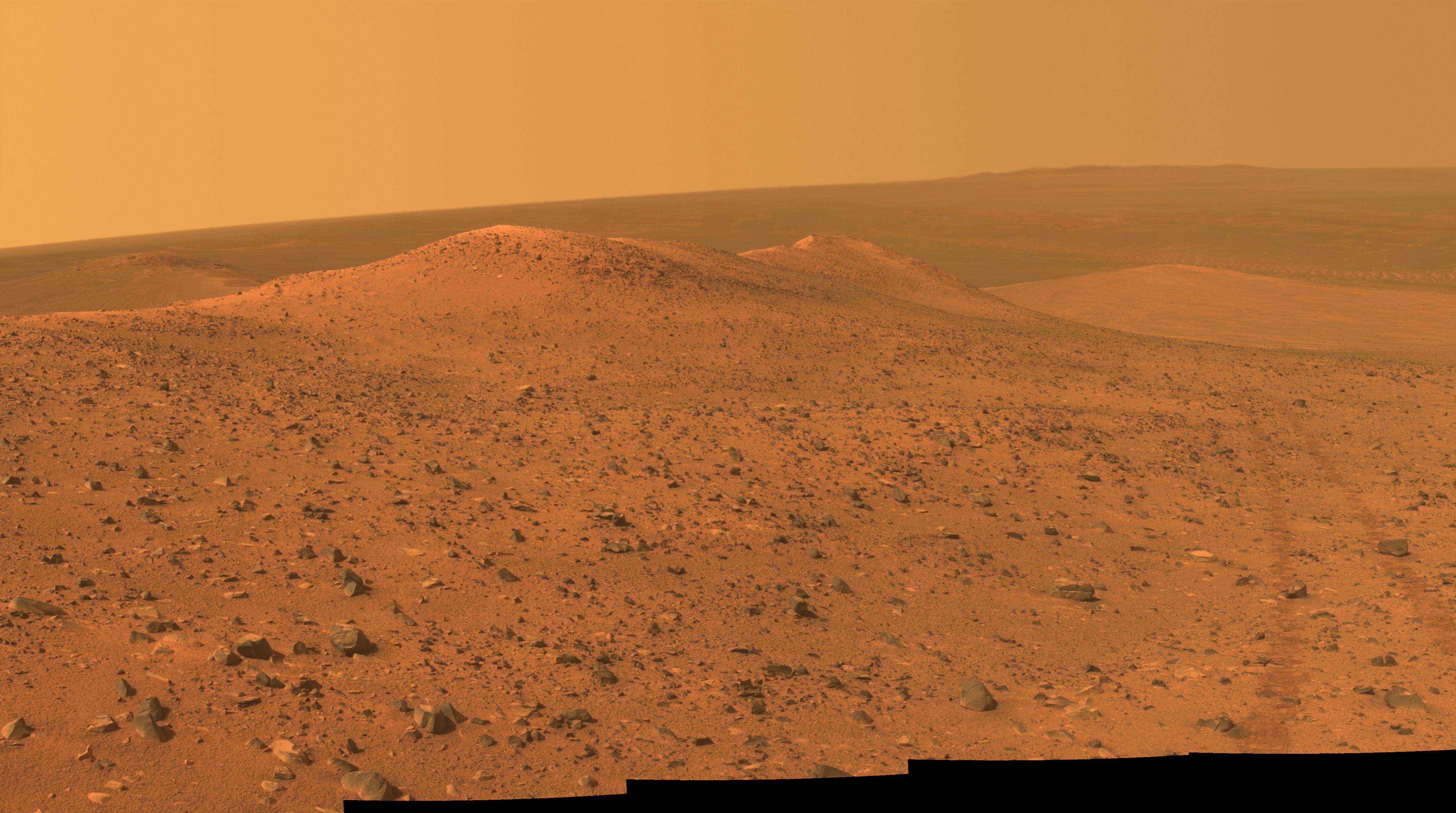 NASA s Opportunity Rover Gets Panorama Image at Wdowiak Ridge