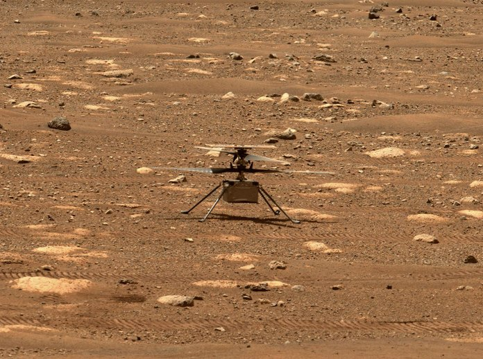 NASA's Mars Helicopter to Make First Flight Attempt Sunday | NASA