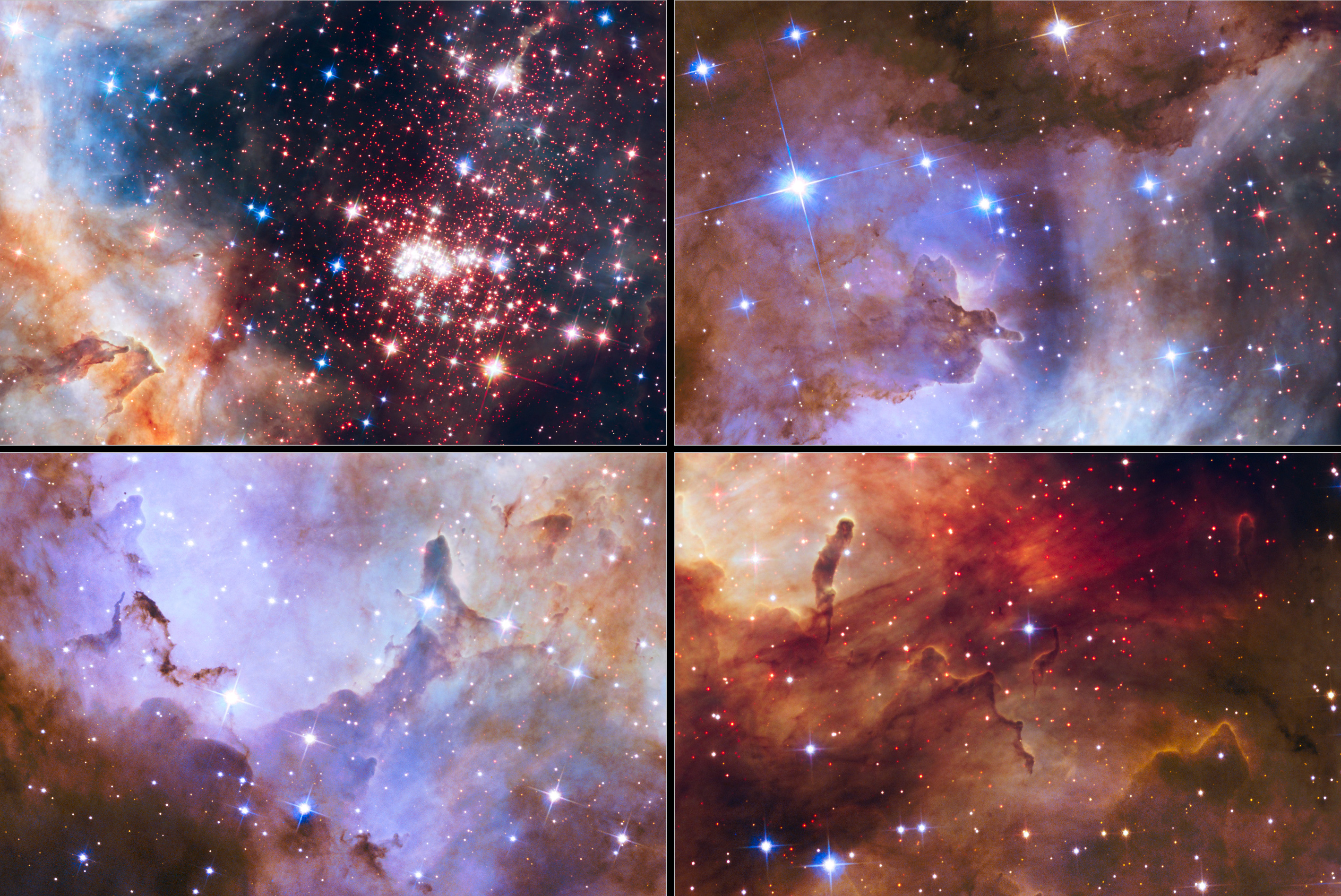 Hubble Space Telescope Celebrates 25 Years Of Unveiling
