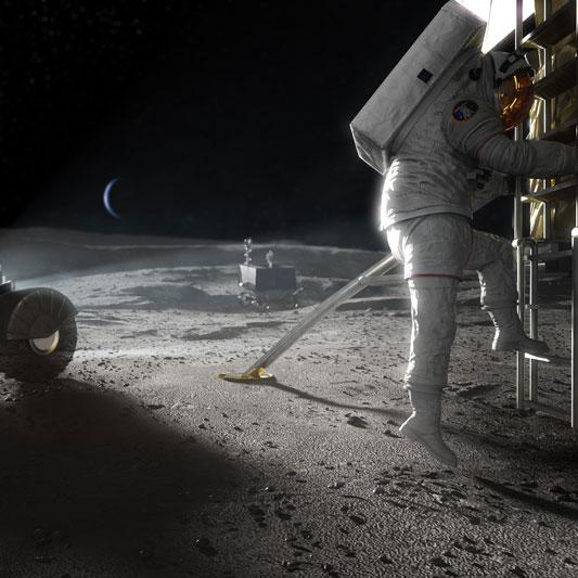 stepping - Afinal, o que o Brasil vai ajudar a NASA na Lua?