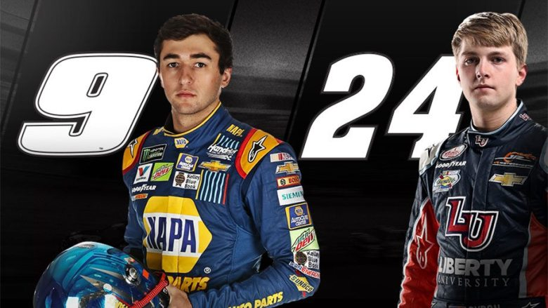 William Byron to drive No. 24 in 2018; Chase Elliott to drive No. 9