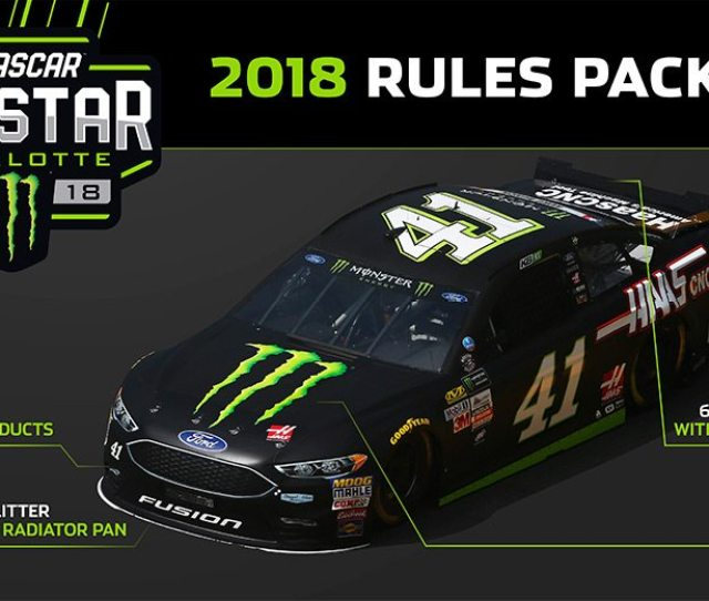 A Graphic Of The All Star Race Rules Package