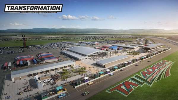 Talladega Transformation New infield project unveiled