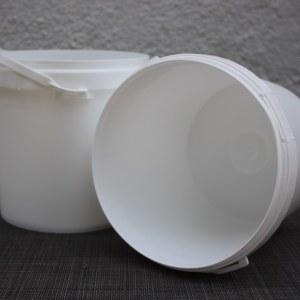 Plastic Pails - White