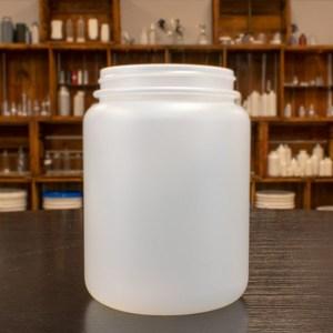 Plastic Jars - Natural