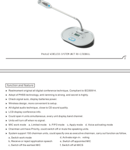 wireless audio conference system in Pakistan