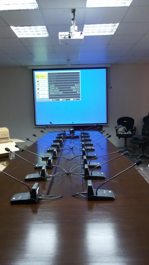 Audio Conference system in Pakistan