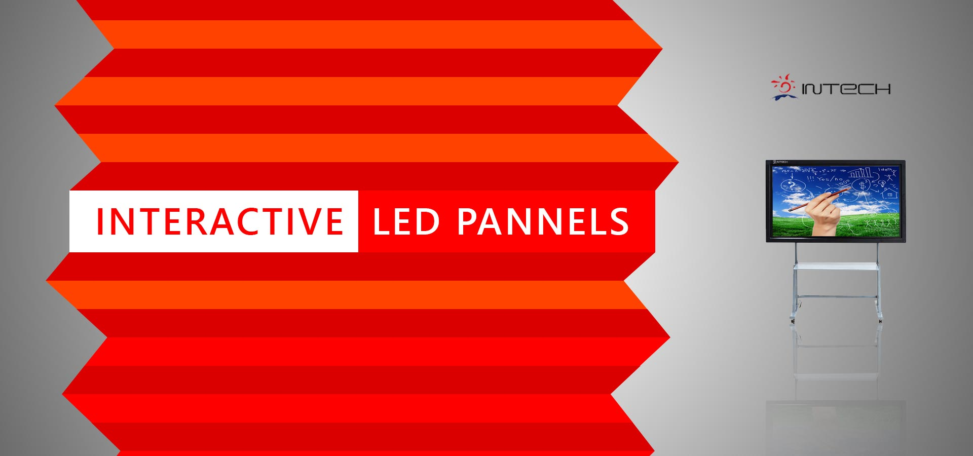 Intech interactive LED display screens