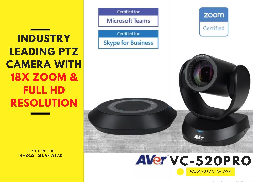 Vc520pro video conferencing system in Pakistan