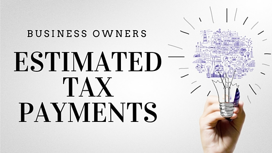 Estimated Tax Payments