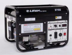 Lifan LF3750 Watt 6.5 HP Portable Generator Recoil Start