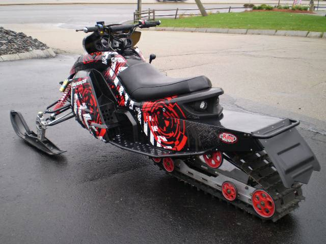 King Husky 250 Snowmobile at Nashua Sports and Cycle