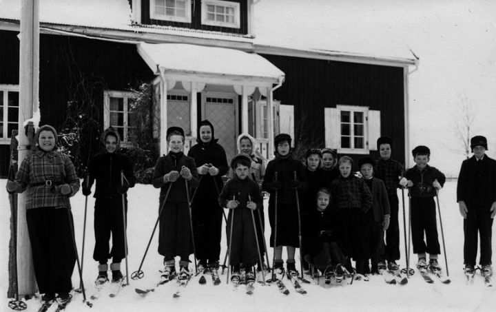 Hillhult skola 1945