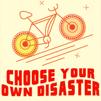 Choose Your Own Disaster Ride logo