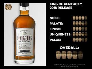 King of Kentucky Bourbon - 2018 Release