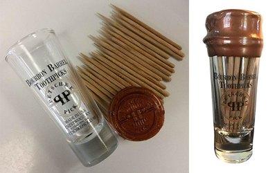 Petschke Pick Bourbon Barrel Toothpicks
