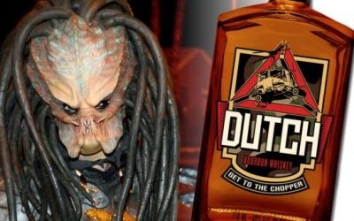 Get to the chopper! a whiskey inspired by Predator