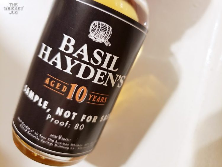 Basil Haydens Bourbon 10 Years Review