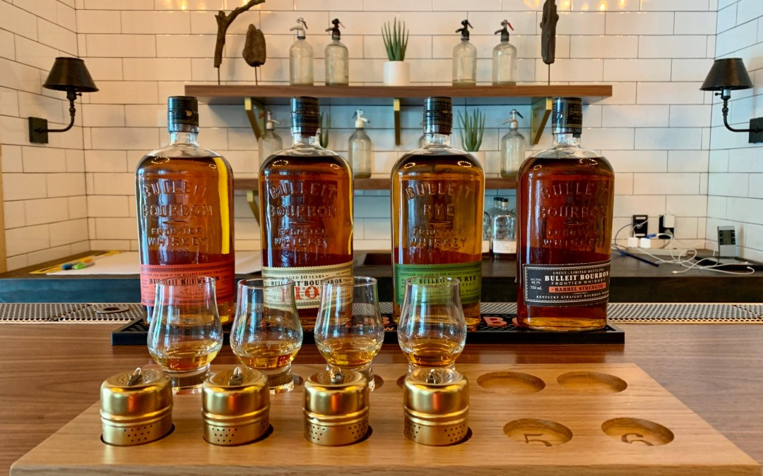 High Tech Bourbon Tasting with Bulleit