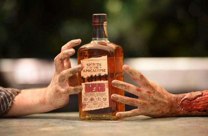 The Walking Dead Kentucky bourbon