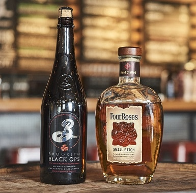 Four Roses, Brooklyn Brewery collaboration beer to launch this fall