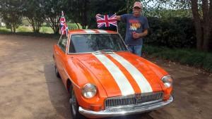 Ken with car