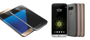 Galaxy S7 and LG G5