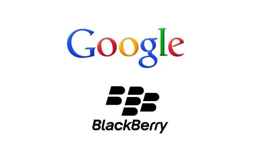 BlackBerry and Google