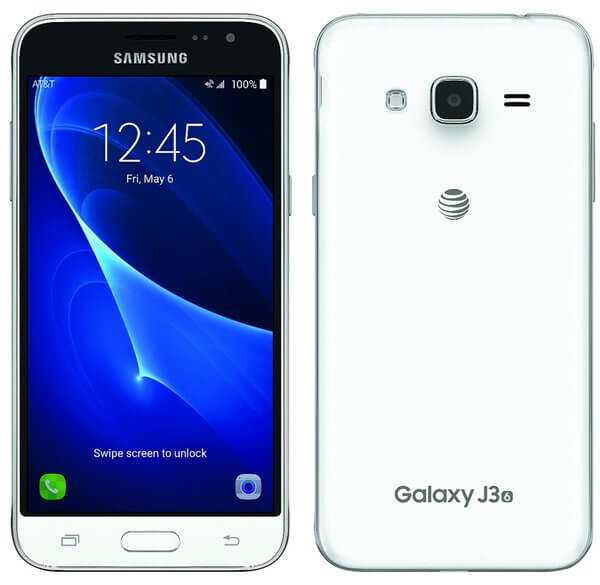 Samsung Galaxy J3 Screen
