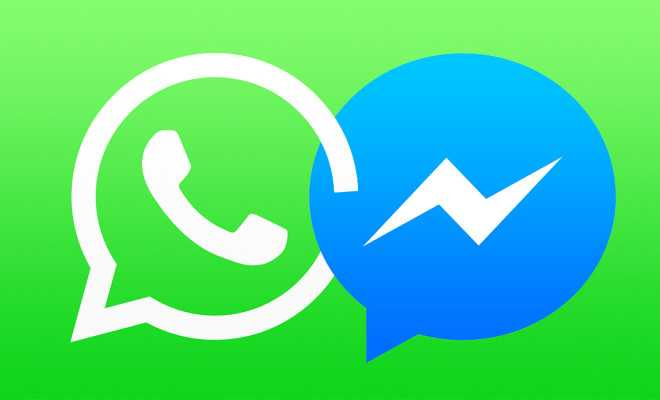 WhatsApp and Facebook Messenger