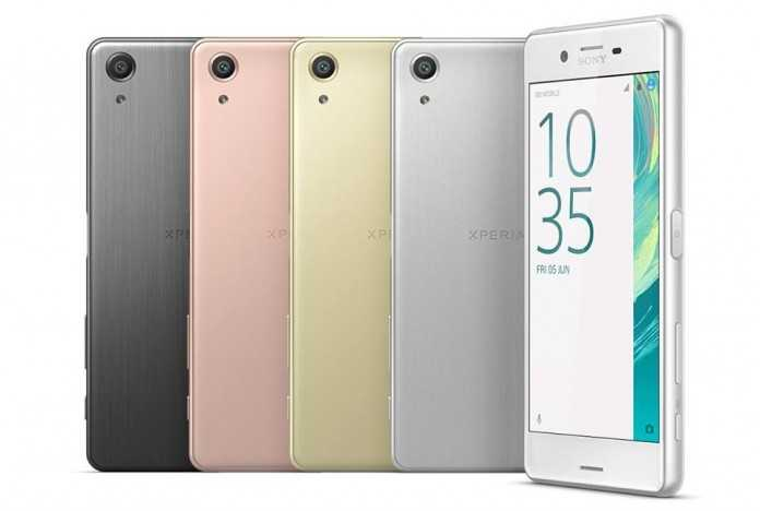 Xperia X Performance, Xperia X and Xperia XA