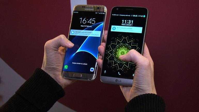 Samsung Galaxy S7 Edge vs LG G5