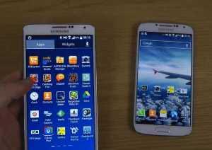 Samsung Galaxy S4 and Samsung Galaxy Note 3