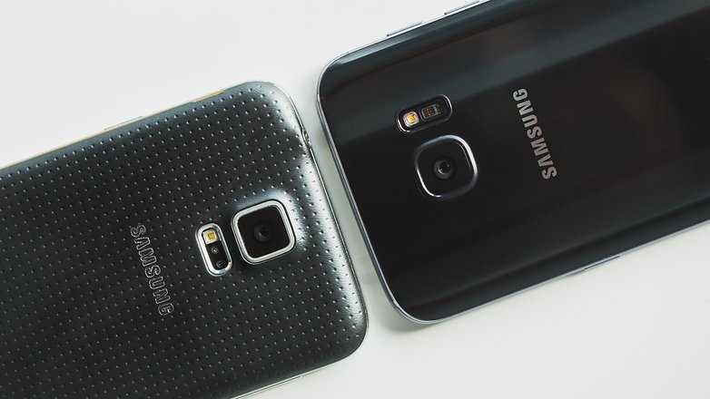 Samsung Galaxy S7 vs Galaxy S5